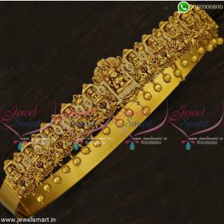 Incredible Temple Vaddanam Nakshi Bridal Gold Catalogue Inspired Imitation Jewellery Online