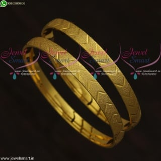 New Imitation Indian Baby Bangles Designs Gold Plated Shop Online B21652