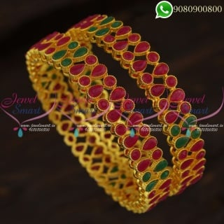 Gold Plated Indian Bangles Online Latest Low Price Imitation Jewellery Shop B21256