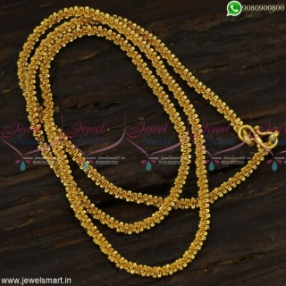 Is this for Real Fancy Gold Chain Design For Women Rare Imitation Jewellery C23171