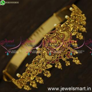 H24401 Kids Baby Oddiyanam Designs 1 Gram Gold Antique Jewellery Temple Hip Belt Online