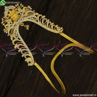 Latest Traditional Temple Aravanki Low Price Wedding Wear Jewellery Online V23462