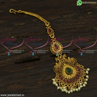 Maang Tikka Antique Bridal Jewellery Designs Latest Collections Online T22489