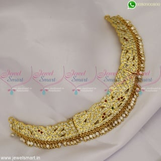 Majestic Handcrafted Choker Necklace Gold Design Getti Metal Copper Metal Jewellery NL22949