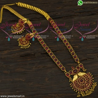 Majestic Original Kemp Long Gold Necklace Handcrafted Artificial Jewellery NL22129