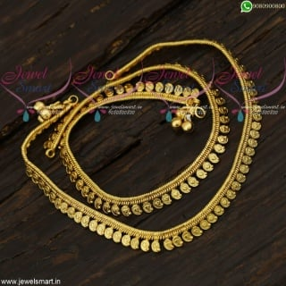 Mango Model Anklets Golusu South Indian Jewelry Daily Wear Collections A21719