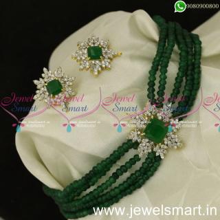 Mani Mala Stylish Crystal Choker Designs For Women New Arrivals Preferred Jewellery NL24044