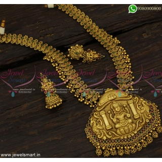 Monumental Temple Jewellery Tremendous Long Necklace Ideas Gold CompetitionNL23232