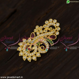 New New Fancy Design Saree Brooch Latest Fashion Accessory For Women Online SP21425