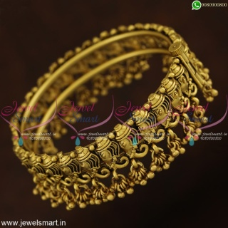 New Temple Jewellery Concepts Lord Ganesh Design Bangles Kada Type B21371