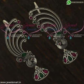 Oxidised Fashion Jewellery Bluetooth Jhumka Earrings Shop Online J22115