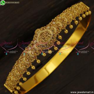 30 to 42 Inches Ram DarbarTemple Bridal Jewellery Oddiyanam Belt designs Online H23388