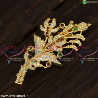 Saree Brooches Fancy Design Shop Online New Fashion Jewellery SP21429