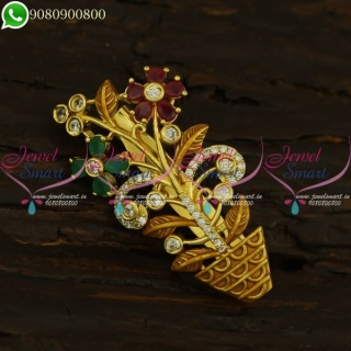 Shop Saree Brooch Supplier Online Latest Artificial Jewellery Collections