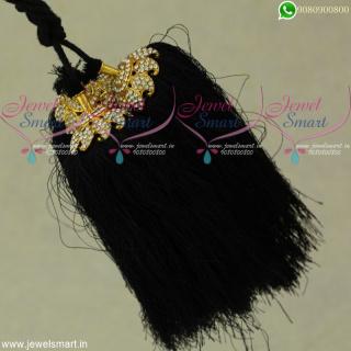 Silk Thread Artificial Jewellery Accessories for Hair Jadai Kunjalam Online JK22101