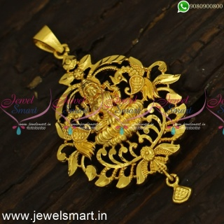 P24395 Simple Daily Wear Temple Dollar Designs For Thin Gold Chains Online