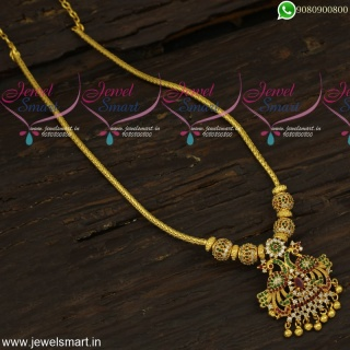 Simply Amazing Gold Necklace Designs Ideas With Kodi Chain Stone Balls
