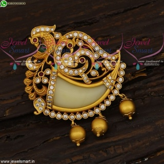 Single Side Tiger Nail Locket Traditional Jewellery South Indian Designs For Men PS21643