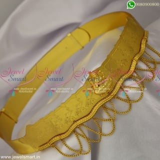 Single Temple Pendant Hip Belt Vaddanam For Babies Kids Girls and Adults Sizes Online H23280