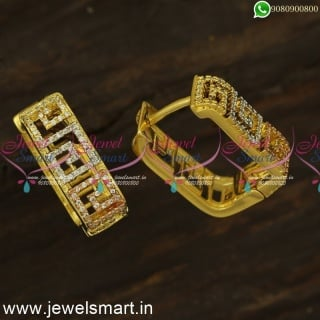 Superior Quality Fashion Earrings Gold Design Imitation Bali Style OnlineER24488