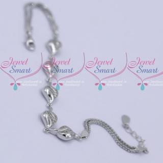B11989 92.5 Silver Flexible Bracelet Daily Wear Jewellery Collections Shop Online