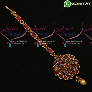 Maang Tikka Bridal Traditional Jewellery Accessory T19885