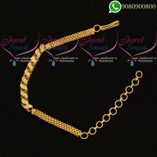 Simple Design Chain Bracelet Low Price Daily Wear Jewellery Online B20381