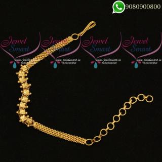 Simple Design Adjustable Bracelet Low Price Daily Wear Jewellery Online B20383