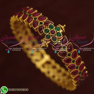 Bracelets For Women Kemp Stones Jewellery Traditional South Designs Online B20562