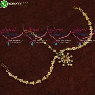 Damini Mathapatty Wedding Jewellery American Diamond Stones Online M20677