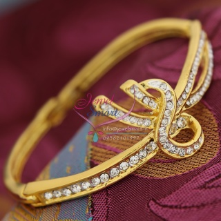 BA9353 22ct Gold Plated Bracelets Open Type Indian Fashion Jewelry Online