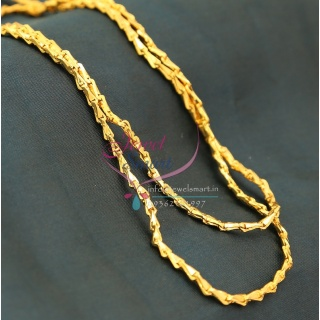 C0747 Traditional Gold Plated Chain 30 Inches 5 MM Thickness