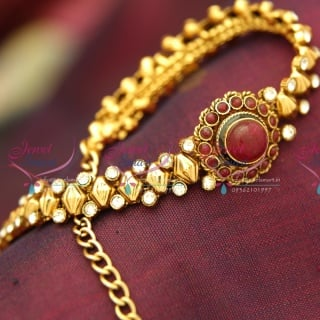 BA3991 Antique Gold Plated Low Price Chain Watch Type Bracelet Flexible Offer Price Online