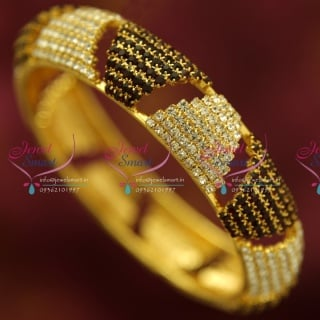 B4379M 2.6 Size Broad White Maroon Grand Single Piece Bangles Buy Online