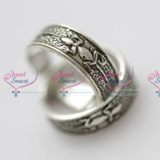 TR5548 Silver 925 Toe Rings Lizard Design Comfortable Smooth Finish Buy Online