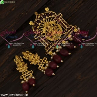 Temple Jewellery Gold Design Pendant Set One Gram Imitation Collections Online