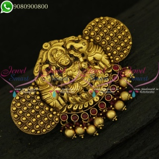 Nagas Nagas Temple Jewellery Collections Online Nagas Hair Clips Matching Accessory H20981