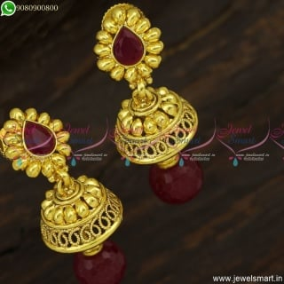Trendy Jhumka Earrings Design Ideas For Small Occasions and Functions J23740