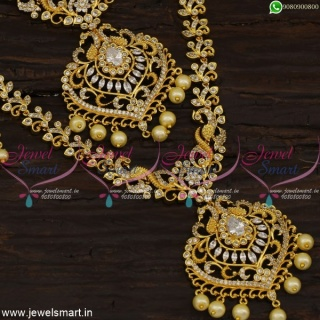 Value For Money Bridal Jewellery Set Gold Plated Haram Necklace New Fashion